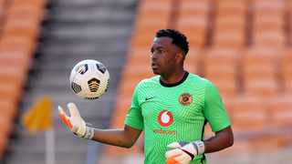 Itumeleng Khune of Kaizer Chiefs during the DStv Premiership 2020/21 match between Kaizer Chiefs and AmaZulu at the FNB Stadium, Johannesburg on the 17 February 2021 ©Muzi Ntombela/BackpagePix