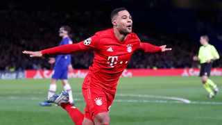 Bayern Munich will be without winger Serge Gnabry for their Champions League group game against Atletico Madrid on Wednesday. Photo: Frank Augstein/AP