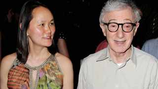 Woody Allen and his wife Soon-Yi Previn attend the premiere after party for his film 'To Rome with Love' in New York. Dylan Farrow, the adopted daughter of Allen and Mia Farrow, penned an emotional open letter, accusing Hollywood of callously lionizing Allen, who she claims abused her. Photo: StarPix, Marion Curtis