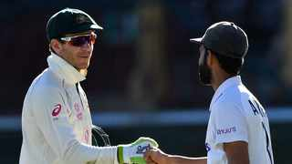 Australia skipper Tim Paine admitted a draw was 'tough to swallow' and rued his series of dropped catches as India escaped defeat in the third Test Monday. Photo: AFP