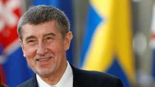 Czech Prime Minister Andrej Babis said Czech authorities had 'clear evidence' linking GRU officers to an explosion in an ammunition warehouse in 2014 which left two people dead. Photo: File