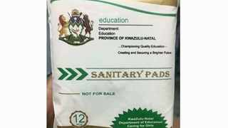 FOUR Education Department officials have been suspended in connection with the multimillion-rand sanitary towels scandal.