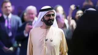 Prime Minister and Vice-President of the United Arab Emirates and ruler of Dubai Sheikh Mohammed bin Rashid al-Maktoum. File picture: Christopher Pike/Reuters