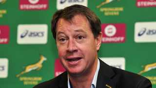 """We are very grateful for the excellent cooperation we've had from our sponsors, broadcast partner, the unions and other stakeholders to get to a point where we can actually start looking forward to rugby matches on weekends again,"""" said Jurie Roux, CEO of SA Rugby. Photo: Ryan Wilkisky/BackpagePix."""