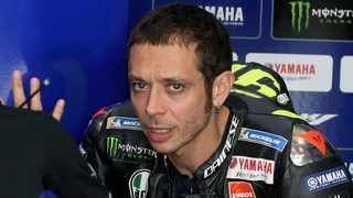 Valentino Rossi has been ruled out of next weekend's MotoGP Teruel Grand Prix and is self-isolating after testing positive for Covid-19. Photo: Hanson Joseph/AP