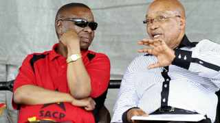 President Jacob Zuma and SACP's Blade Nzimande. File photo: Picture: Bongiwe Mchunu