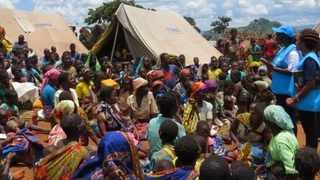 The government of Sweden on Monday, contributed to the internally displaced persons (IDP) response in Mozambique. Picture: Twitter/ UNHCR Mozambique
