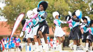 CHAMPS: The Groote Schuur Primary School drummies were crowned the overall winners of the first Western Province Cheerleading Competition last week. Picture: Fuad Esack