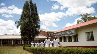 Nurses break for lunch at a local government hospital in Harare, Zimbabwe. File picture: Philimon Bulawayo/Reuters