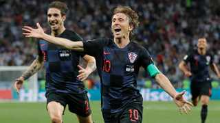 Real Madrid's Luka Modric has reminded the world of his quality, powering Croatia to a first ever World Cup final appearance. Photo: AP Photo/Ricardo Mazalan