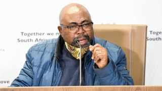 EMPLOYMENT and Labour Minister Thulas Nxesi. Jairus Mmutle GCIS