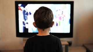A boy watches television. Picture: Pixabay