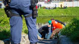 The body of Yusuf Kiroboto was found in the Black River, just off the N2 near Athlone. Picture: Courtney Africa / African News Agency (ANA)