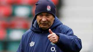 England coach Eddie Jones has been placed in self-isolation after Matt Proudfoot tested positive for Covid-19, England Rugby announced on Wednesday. Photo: Paul Childs/Reuters