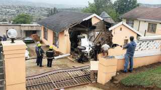 Seven children died when the bakkie taking them home from school crashed into this house in Imbali Township in Pietermaritzburg.