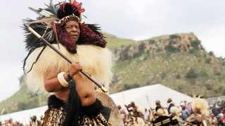 African News Agency Durban based photographer Nqobile Mbonambi developed a special bond with the Late King Goodwill Zwelithini, taking pictures of him over the years at different events around KwaZulu-Natal. Picture: Nqobile Mbonambi/African News Agency(ANA)