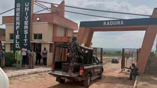 Last Tuesday, armed men stormed Greenfield University in Kaduna state, killing one person and abducting an unknown number of students. Picture: Reuters
