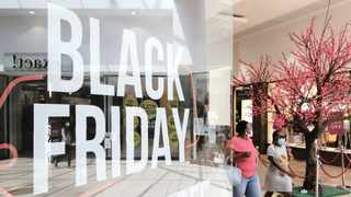 Black Friday adverts such as this one at Mall@Reds in Rooihuiskraal have been popping up everywhere in shopping malls. Picture: Jacques Naude/African News Agency (ANA