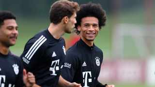 While Leroy Sane (right) cost champions Bayern R974 753 660,50, that deal for the Germany winger was agreed early in the year and remains the high water mark for individual fees spent. Picture: Matthias Schrader/AP