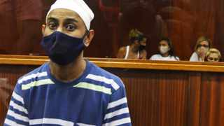 Convicted murderer Mohammed Ebrahim at the Durban High Court on Monday. Picture: Tumi Pakkies/African News Agency (ANA)