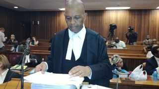 Advocate Dali Mpofu in the North High Court on Wednesday. Picture: Brenda Masilela/ANA