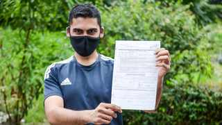 The Directorate of Public Prosecutions has declined to prosecute KZN Avoca resident Asheel Sewsanker who was arrested for not wearing a mask while jogging. Picture : Motshwari Mofokeng /African News Agency (ANA)
