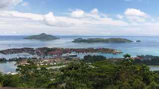 The view from on top of the Mission Lodge on Mahe, Seychelles. Picture: Lee Rondganger