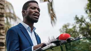 Musician-turned-politician Robert Kyagulanyi, also known as Bobi Wine, is no longer under house arrest. Picture: Sumy Sadruni/AFP