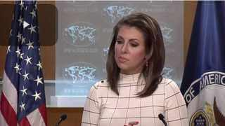 US State Department spokesperson Morgan Ortagus File photo: State Department