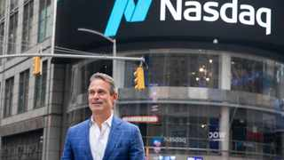 Ron Coughlin, chief executive officer of Petco Animal Supplies Inc., outside the Nasdaq MarketSite in New York. Picture: Bloomberg/Michael Nagel