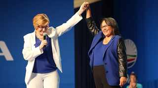 Western Cape Premier Helen Zille and axed Cape Town mayor Patricia de Lille. File picture: Michael Pinyana/Independent Media Archives