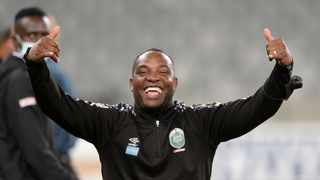 Benni McCarthy was elated with his teams win over Cape Town City. Photo: Ryan Wilkisky/BackpagePix