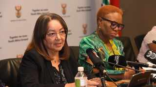Minister of Public Works and Infrastructure, Patricia de Lille Picture: GCIS