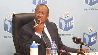 ELECTORAL Commission of South Africa chief electoral officer Sy Mamabolo. Picture: Jacques Naude/African News Agency (ANA)
