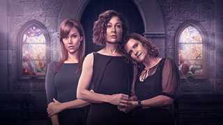 "Shannon Esra, Kate Liquorish and Tiffany Barbuzano are the leads in M-Net's drama, ""Still Breathing"". Picture: Supplied"