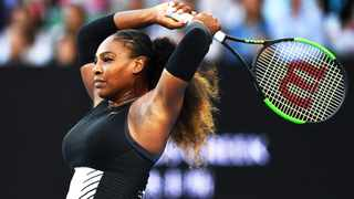 Serena has hinted at a return to the tennis court after taking time out to have her first baby. Photo Credit: Lukas Coch/BackpagePix