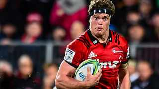 Crusaders captain Scott Barrett was happy with their performance against the Highlanders. Picture: John Davidson / www.photosport.nz