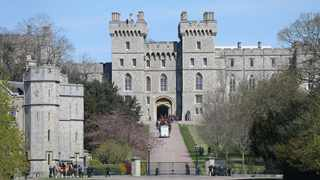 Prince Philip's coffin moved to Windsor Castle's inner hall ahead of funeral. Picture: Bang Showbiz