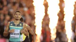 Big names, such as Wayde van Niekerk, may turn out at a meeting in Potchefstroom on November 3. Picture: Reuters