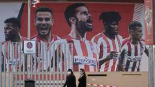 Atletico Madrid have cancelled their final training session ahead of their trip to Lisbon for the Champions League 'Final Eight' tournament due to two members of the squad testing positive for Covid-19, a club spokesman said. Picture: Paul White/AP