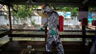 Those inoculated in Thailand so far have been frontline medical workers or groups seen as at risk due to potential exposure to the virus, or their age and pre-existing health conditions. Picture: REUTERS/Athit Perawongmetha