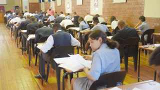 A file picture of matrics writing their final exams. Picture: Michael Walker/ANA