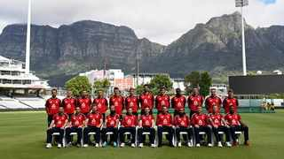 The England side for the match at Newlands. Photo: @Englandcricket on twitter