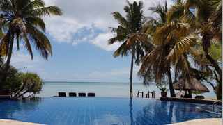 File image: Views from the pool deck of Anantara Bazaruto Island Resort.