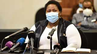 Gauteng Health MEC Nomathemba Mokgethi. Picture: Itumeleng English/African News Agency(ANA)