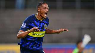 FILE - Cape Town City FC's Craig Martin celebrates after scoring against Stellenbosch FC at the Danie Craven Stadium last year. Photo: Ryan Wilkisky/BackpagePix
