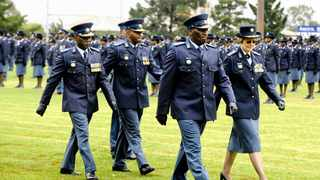National Police Commisioner, Bheki Cele during a previous passing out parade at the SAPS Training Institute in Pretoria West. A medical facility is being added to the institute.Picture: Phill Magakoe/ANA file