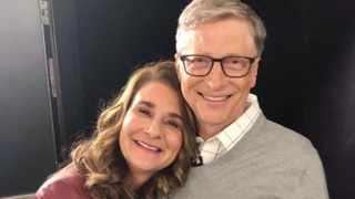 Bill and Melinda Gates Picture: Instagram
