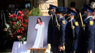 Farewell aunty Shaleen: Icon gets hero's send-off at state funeral