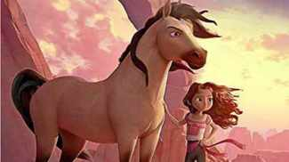 Little girl to rescue horse pal